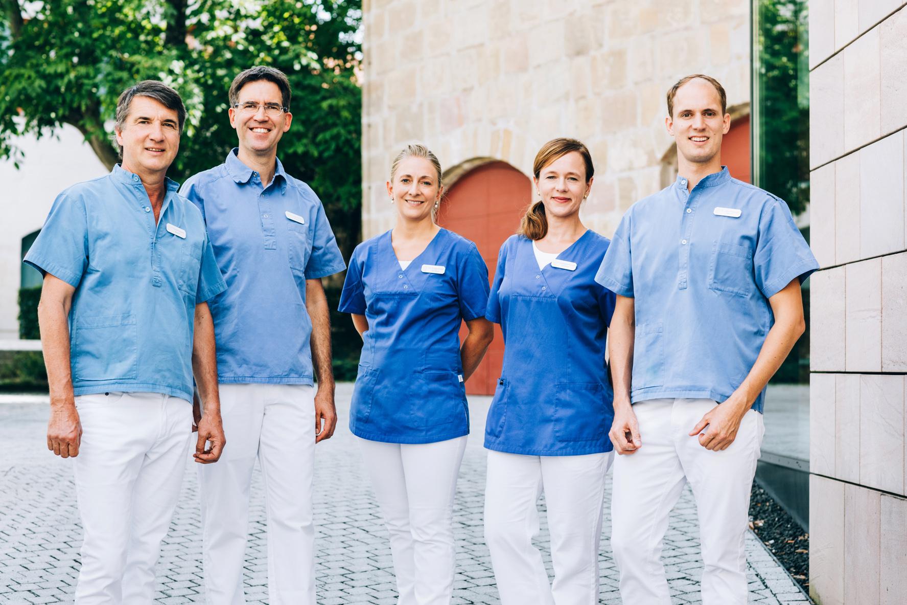 Gruppenbild, Zahnärzte Hilpoltstein